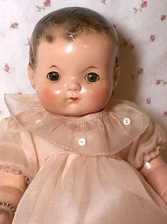 Old Dolls, Antique Dolls, Vintage Dolls, Doll Toys, Pet Toys, Baby Dolls, Baby Boomer Era, Effanbee Dolls, 1940s