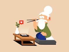 Flat Design Illustration, Character Illustration, Illustration Art, Animated Icons, Animated Gif, Gifs, Estilo Disney, Stop Motion, Motion Design