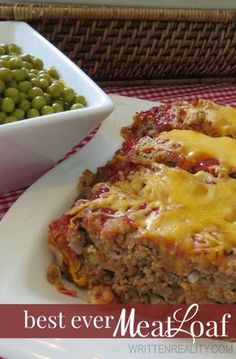 Looking for your next family favorite recipe? This Best Ever Meatloaf is a great choice tonight!