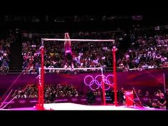 Gabby Douglas- Uneven Bars, All Around Final, London Olympics 2012.