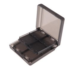 Wholesale Price Black 16-in-1 Game Memory Card Case Holder Storage Box for N-intendo DS D-SI LL/XL