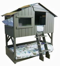 Beliche para meninos em forma de casinha