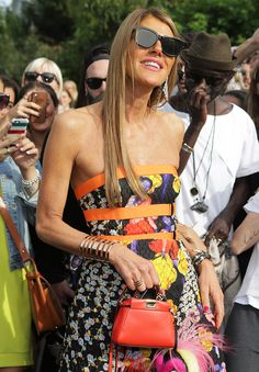 Celebrity Handbags Paris Fashion Week Spring 2015-35