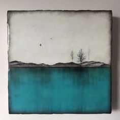 """Above Turquoise"" 10"
