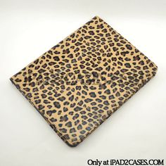The LeopardCase iPad 2 case in its original Leopard color!