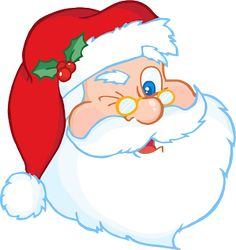 free santa claus clip art image clipart illustration of santa 2 rh pinterest com clipart of santa claus black and white clipart santa claus sleigh