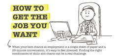 You want the job, but how do you get it? This infographic by CashNetUSA has all the answers! Takeaways: Build a winning resume - 70% of employers prefer a