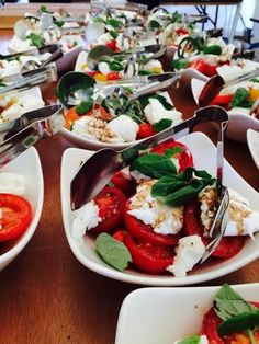 Summer Tomato Salad #weddingcatering #cliffordbrowncatering www.cliffordbrowncatering.co.uk