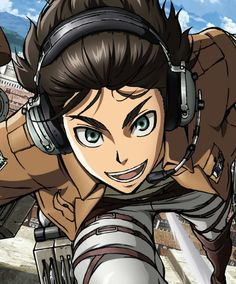Eren Jaeger. LOLXD Can I join you? Rocking out to music, oh yeah >-<
