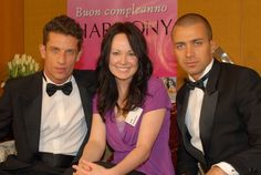 Gena in Italy with handsome models!