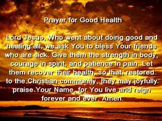 Catholic prayers for mental illness