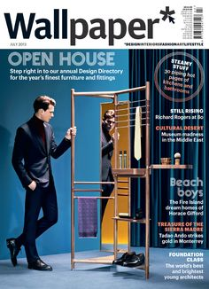 Wallpaper* July 2013 Cover Open House - Design Directory #Cover #DesignDirectory