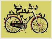 Birdcycle (yellow) by Methane Studios
