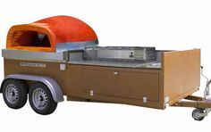 Mobile Pizza Truck Ovens - Tuscany Fire
