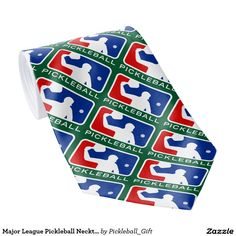Major League Pickleball Necktie! Many styles & colors ———————————————— #pickleball #necktie #men #majorleague #pro #logo #dad #clothing #discount #sale #spring #2016 #gifts #giftidea
