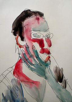 thinking(self portrait) by Shohei Hanazaki, via Flickr