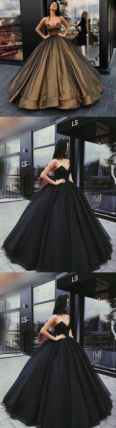 Sweetheart Elegant A-line Ball Gown, Beaded Princess Cheap Long Formal Prom Dresses, PD0365 #prom mingdressy#prom
