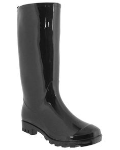 Capelli New York Ladies Shiny Solid Opaque Jelly Rain Boot ** Hurry! Check out this great shoes : Women's winter boots