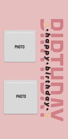 Happy Birthday Template, Happy Birthday Frame, Happy Birthday Posters, Happy Birthday Wallpaper, Birthday Frames, Love Birthday Quotes, Happy Birthday Quotes For Friends, Birthday Posts, Story Instagram
