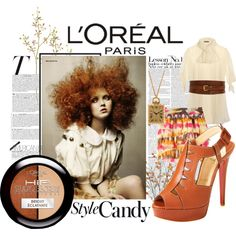 L'Oréal, created on #polyvore