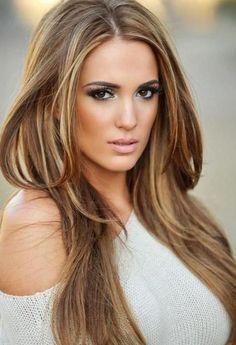 Kadınlara En Çok ;Yakışan Karamel Saç Renkleri
