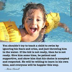 Natuurlijk leervermogen, readiness, onvoorwaardelijk ouderschap, vertrouwen