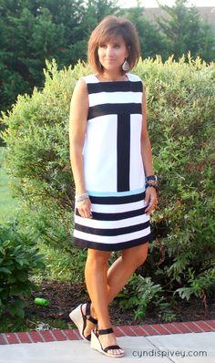 Summer Fashion-Striped Dress