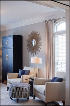 Living Room - Contemporary - Living room - Images by Interiors by Redesign | Wayfair