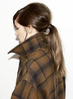 60′s-inspired ponytail