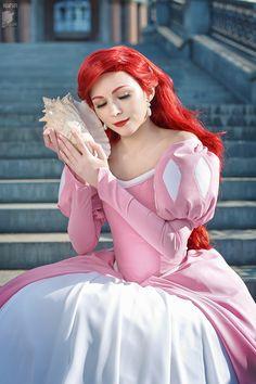Ariel little mermaid princess cosplay