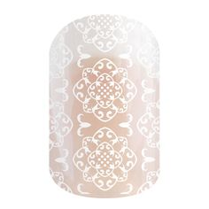 Grenada | Jamberry Subtle design on a clear wrap can be worn alone or over your favorite lacquer, gel or wrap! https://laurablower.jamberry.com/us/en/