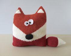 Fox Cushion Knitting Patterns