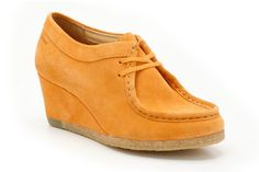 Womens Originals Shoes - Yarra Bee in Apricot from Clarks shoes £66