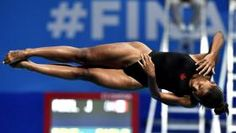 Jennifer Abel claimed the bronze medal in the women's individual 3m springboard on Friday at the FINA World Championships in...