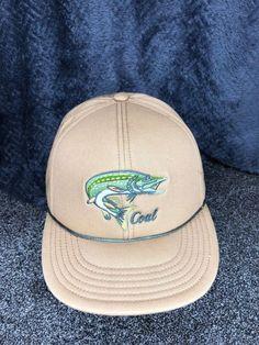 Coal Snapback Hat Outdoors Fishing NWOT Animal Seattle Head Gear Cap  Coal   BaseballCap d3a25dfc8