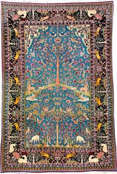 Tehran 'Rug' (Tree Of Life)