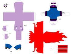 Paper Crafts: Octaretta by KPenDragon.deviantart.com on @deviantART