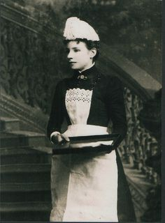 Maid. early 1900s.