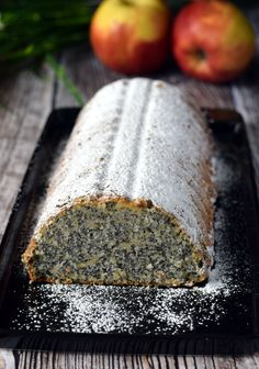 Polish Desserts, Polish Recipes, Sweet Desserts, No Bake Desserts, Cake Recipes, Dessert Recipes, Poppy Seed Cake, Sweets Cake, Cooking Recipes