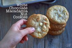 Gluten-free White Chocolate Macadamia Nut Cookies   Gluten-Free on a Shoestring