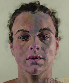Hanjo Schmidt, Silja II, Acryl auf Leinwand, 120 x 100 cm, 2008, 5.250 €