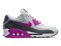 Nike Air Max 90 pour Femme Blanc/Rouge