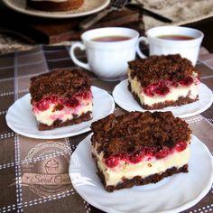 Polish Recipes, Polish Food, Food Cakes, Cheesecakes, No Bake Cake, Tiramisu, Cake Recipes, Cooking Recipes, Cupcakes
