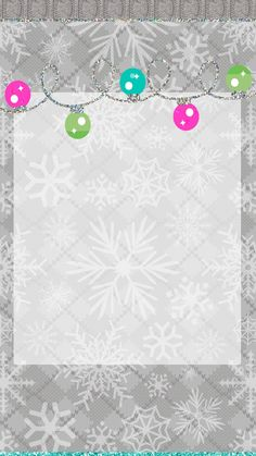Pretty Walls: Snow dust freebie