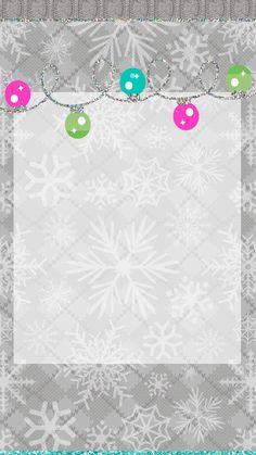 Pretty Walls: Snow dust freebie