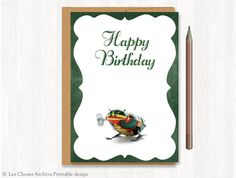 birthday cards by Monica Moscovich on Etsy