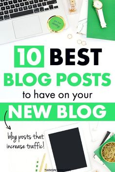 What types of blog posts should you have on your new blog? Learn two best types of blog posts for any new blogger in any niche to have on their blog. These blog posts will grow blog traffic! #blogpost #blog #blogger