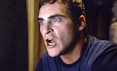 Joaquin Phoenix face shocked