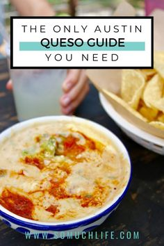 Who doesn't love queso?? No really, if you don't love queso, what's wrong with you?! Here is my guide to the best queso in Austin! #atxeats #austintexas #visitaustin