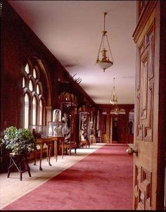 Inspiration for the corridor in my fictitious Briarcliff Park where my characters Elliot & Gwen have an awkward encounter in my novella, The Substitute Bride. In real life, a hallway in Audley End House, #England.